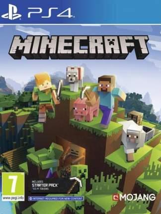 Игра Minecraft Bedrock Edition для PlayStation 4