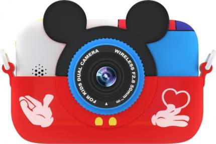 Фотоаппарат цифровой компактный GSMIN Fun Camera Memory Red