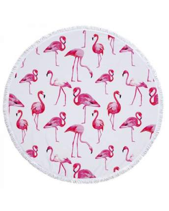 Коврик для пикника Baziator Beach Towel Яркие фламинго BG0103A 150х150 см