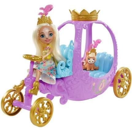 Кукла Enchantimals Royals Королевская карета Peola Poney и Petite GYJ16