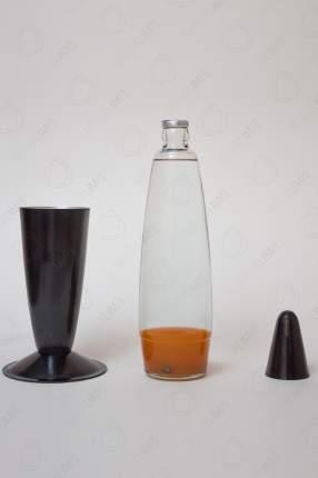 Лава-лампа Motionlamps 41см Black Оранжевая Прозрачная