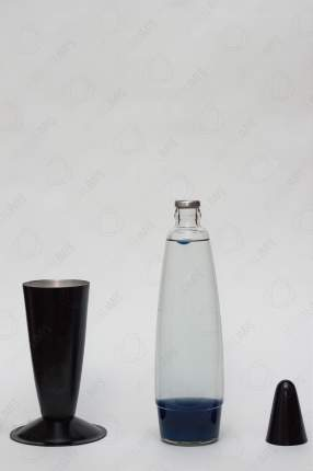 Лава-лампа Motionlamps 41см Black Синяя Прозрачная