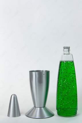 Лава-лампа Motionlamps 48см Зелёная Блёстки (Глиттер)