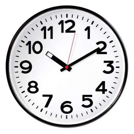 """Часы настенные """"Troyka"""", 305 мм, цвет черный"""