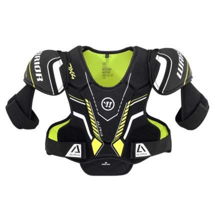 Защита груди/плеч WARRIOR ALPHA DX4 SR Shoulder Pads арт.DX4SPSR9-XL,р.XL,чер