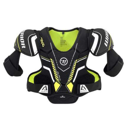 Защита груди/плеч WARRIOR ALPHA DX4 SR Shoulder Pads арт.DX4SPSR9-M,р.M,чер