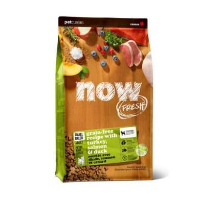 Сухой корм для собак NOW Fresh Adult Small, для мелких пород, индейка, утка, овощи, 5,45кг