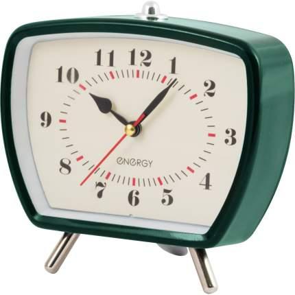 Настольные часы-будильник Energy EA-01, зеленый (003800)