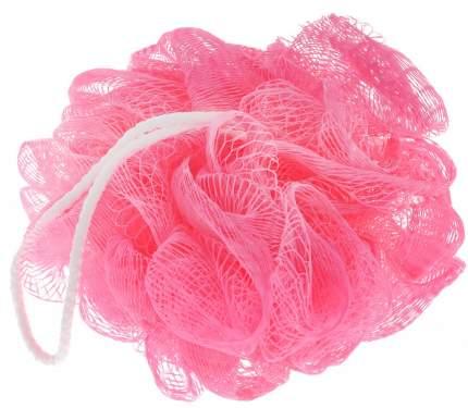 Нейлоновая мочалка ШАРИК BATH JPONGE (Цвет: Розовый  )