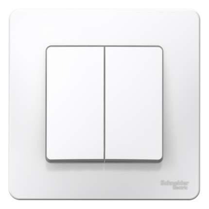 Выключатель Schneider Blanca СУ, 2 клавиши, 10А, белый, пластиковая основа, BLNVS010501
