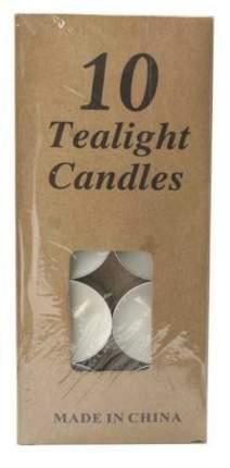 Свечи чайные белые (10 штук) MC-1610202-1