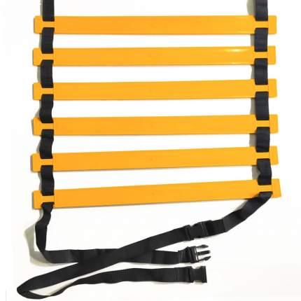 Лестница координационная 4 метра (желтая) в чехле
