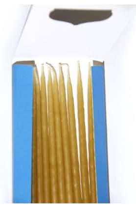Свечи освященные, конучные, парафин, 12 штук 023наб13