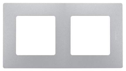 Рамка 2-я алюминий Legrand ETIKA