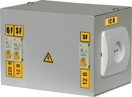 Ящик с понижающим трансформатором IEK ЯТП-0,25 220/12-2 36 УХЛ4 IP30