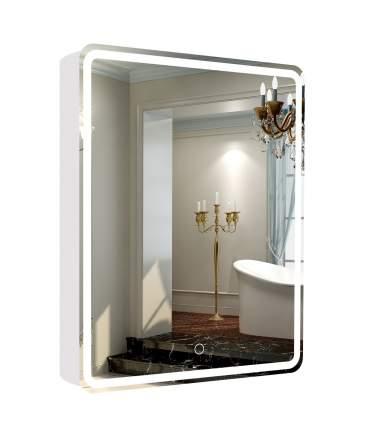 Зеркало-шкаф La Tezza с LED подсветкой, сенсорный вкл., розетка, 60х80х14,3 (ШВГ), правый