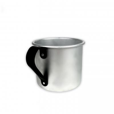 Кружка Noname туристическая, 500 ml (серебряный)