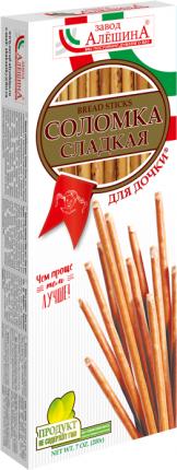 Соломка Завод Алешина Для дочки сладкая 200 г
