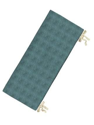 Подушка на скамью sfer.tex 150х50х2 Имитация вязания бирюзовый
