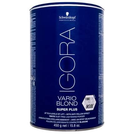 Порошок для обесцвечивания волос Schwarzkopf Igora Vario Blond Super Plus 450 г
