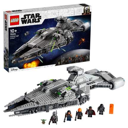 Конструктор LEGO Star Wars Mandalorian 75315 Легкий имперский крейсер