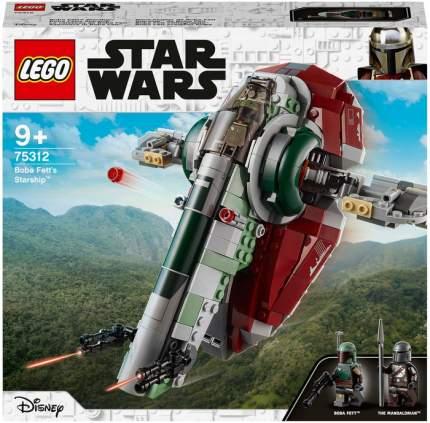 Конструктор LEGO Star Wars Mandalorian 75312 Звездолет Бобы Фетта