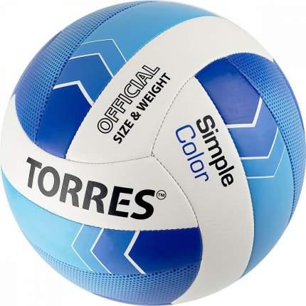 Мяч волейбольный TORRES SIMPLE COLOR, р.5 V32115