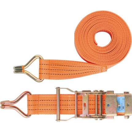Ремень багажный с крюками 0,05х10 м,, храповый механизм //STELS Россия
