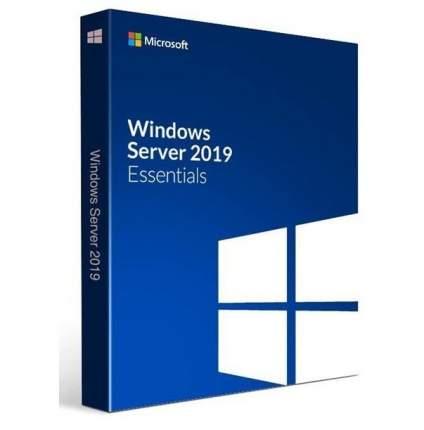 Операционная система Microsoft Windows Svr Essentials 2019 64 bit Eng DVD BOX (G3S-01184)