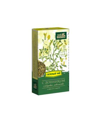 """Чай Наследие природы """"Зеленый с донником"""", 20 пакетиков"""