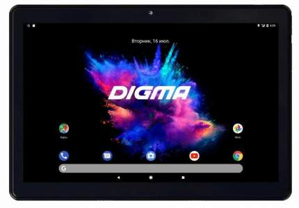 Планшет DIGMA CS1219PL Black