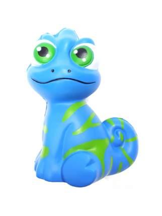 Игрушка-антистресс Heng Long Squishy Ящерица голубая Z25, 13x9 см
