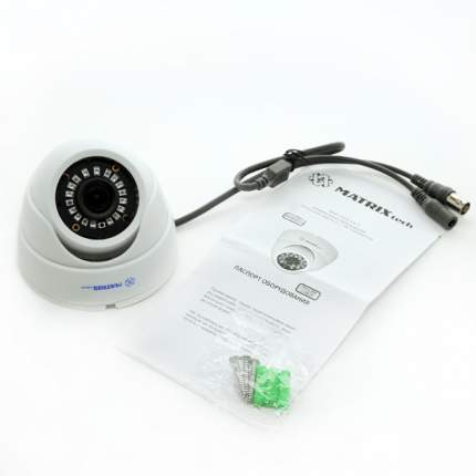 Купольная AHD камера 2 МП MATRIX DW1080AHD20XF (3,6мм)