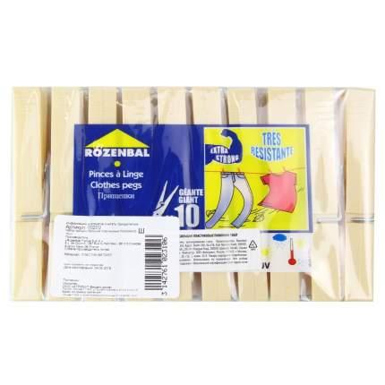Прищепки Rozenbal Пиноккио пластиковые большие 10шт