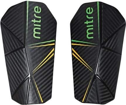 Щитки футбольные MITRE Delta Slip S80005BGY, р. M, без голеностопа, черный