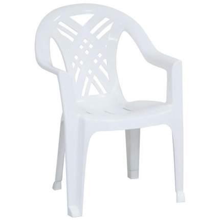 Стул для дачи Стандарт Пластик Престиж 2 СТПЛГР.79244 white 66х60х84 см