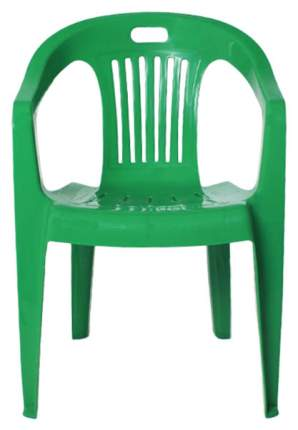 Стул для дачи Стандарт Пластик Комфорт-1 СТПЛГР.79258 green 54х53,5х78 см