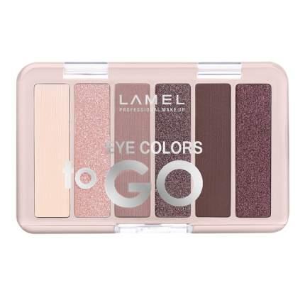 Набор теней для век Lamel Professional Eye Colors to GO, № 403