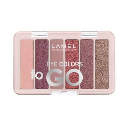 Набор теней для век Lamel Professional Eye Colors to GO, № 401