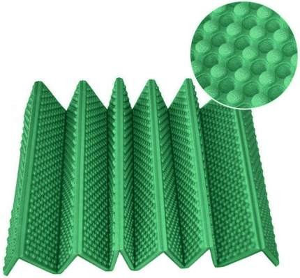 """B34487 Коврик туристический складной """"Magnum"""" 180х60см 15мм в чехле (зеленый)"""
