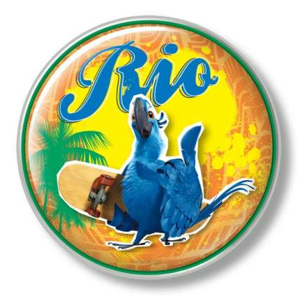 Ночник нажимной 5LED (4AA) зелёный RIO1-12 DTL-371 Uniel