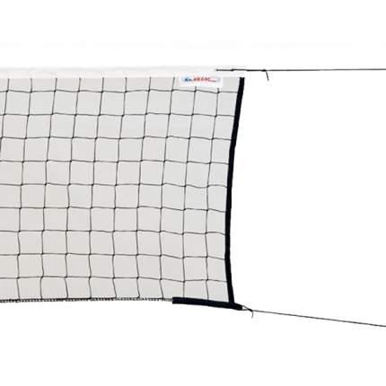 Сетка волейбольная  KV.REZAC трен., 15935097400, черн., 9.5х1м, нить 2мм ПП, стал. трос