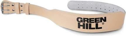 Пояс тяжелоатлетический GREEN HILL WLB-6426-L, 6 дюймов, р.L дл.115 см, коричнев
