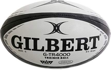 """Мяч для регби """"GILBERT G-TR4000"""" арт.42097805, р.5, резина, ручная сшивка, бело-чер"""