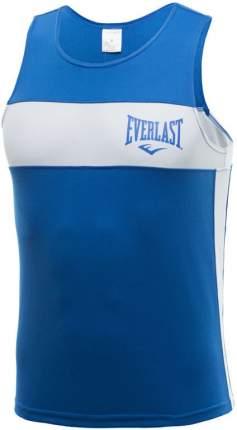 Майка боксерская Everlast Elite XL синяя/белая