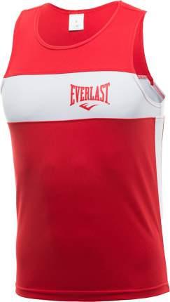 Майка боксерская Everlast Elite 146 красная/белая