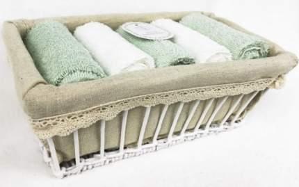"""Набор кухонных салфеток """"Ирис"""", 30x50 см, 5 штук, цвет бирюзовый"""