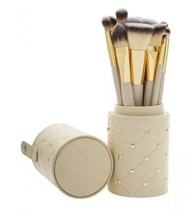 Набор из 12 кисточек для нанесения макияжа в футляре-тубе премиум-класса, Premium brushes