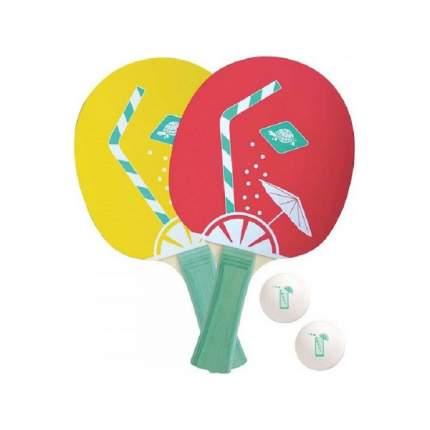 Набор DONIC SPIN (2 ракетки, 3 мячика ...)