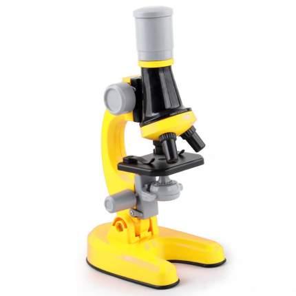 Набор для опытов с микроскопом детский Scientific microscope желтый